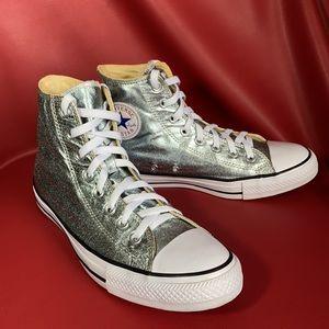 Converse All Star Metallic Hi Tops Unisex Shoes